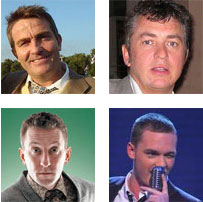 Bradley Walsh, Shane Ritchie, Lee Mack, Scott Burton
